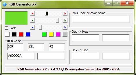 RGBGen XP